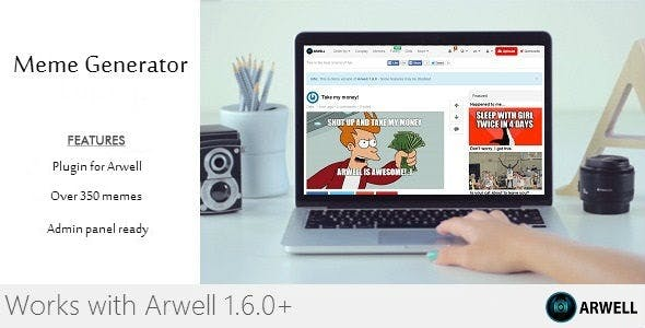 Meme Generator Plugin for Arwell
