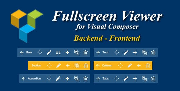 Visual Composer Fullscreen Viewer