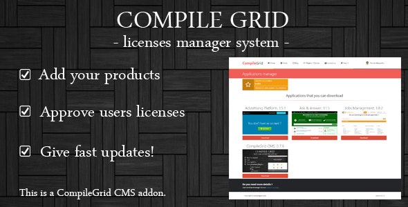 Licenses manager - CodeCanyon Item for Sale
