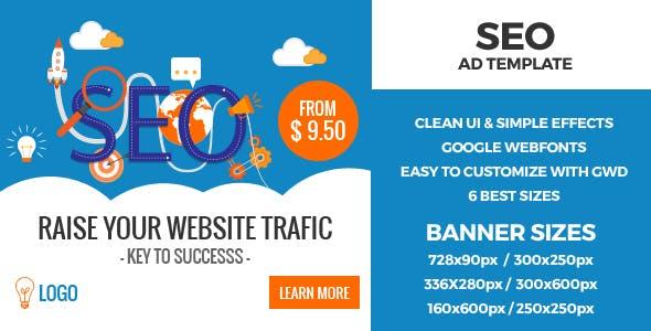 SEO HTML5 GWD Ad Banners