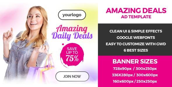 Amazing Deals - GWD Ad Bannner