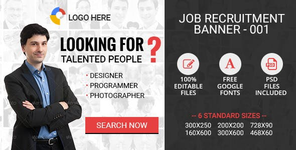 Job Portal Ad Banners Plugins, Code & Scripts from CodeCanyon