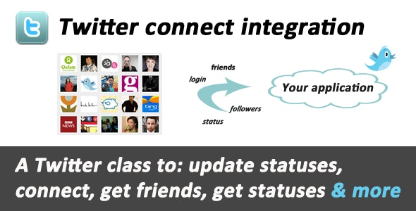 Twitter connect & API integration - CodeCanyon Item for Sale