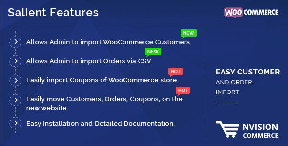 Easy Customer, Coupons and Order Import in WooCommerce - CodeCanyon Item for Sale
