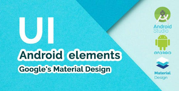 Android Material Design UI Components