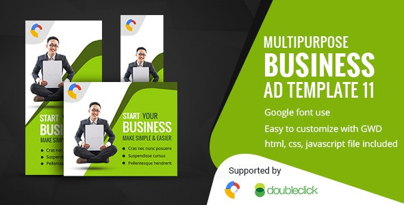 Business | HTML5 Google Banner Ad 12 - CodeCanyon Item for Sale