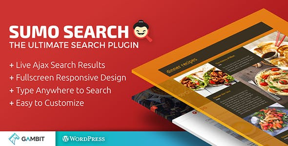 Live Ajax Site Search - Sumo Search WP Plugin