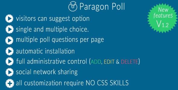 Paragon Poll - CodeCanyon Item for Sale