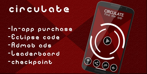 Circulate - Admob and Leaderboard - CodeCanyon Item for Sale