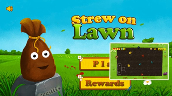 Strew On Lawn Game - CodeCanyon Item for Sale