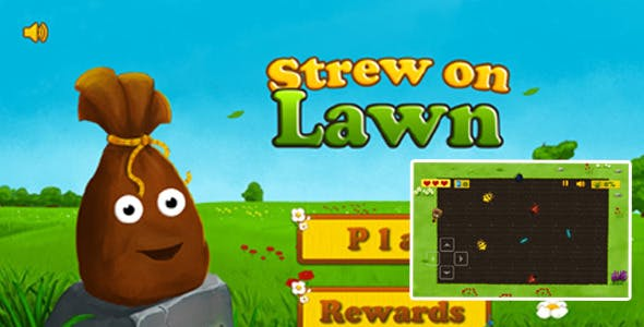 Strew On Lawn Game