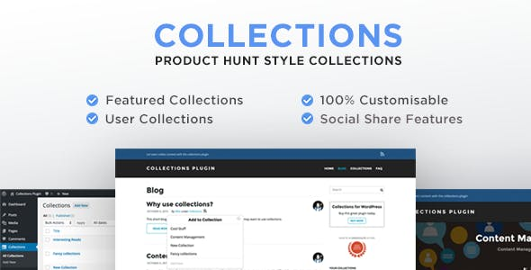 Collections for WordPress Plugin