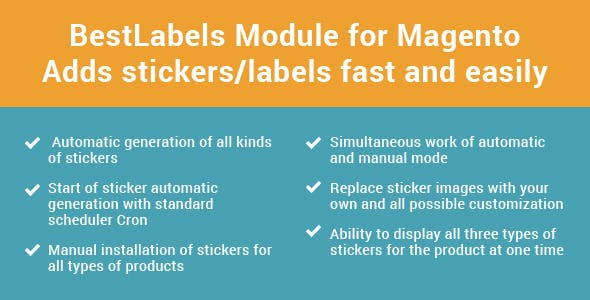 Product Label / Best Labels 1.5