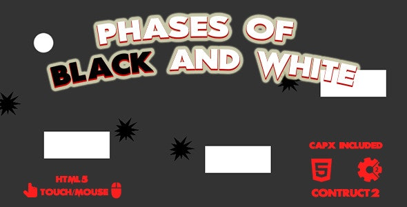 Phases of Black and White - CodeCanyon Item for Sale