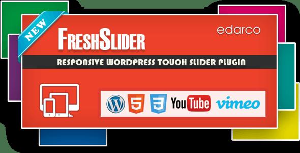 FreshSlider - Responsive WordPress Slider Plugin