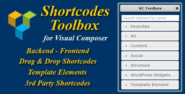 Visual Composer Shortcode Toolbox - CodeCanyon Item for Sale