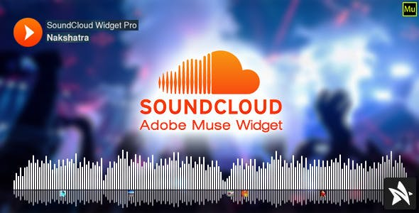 SoundCloud Widget Pro for Adobe Muse