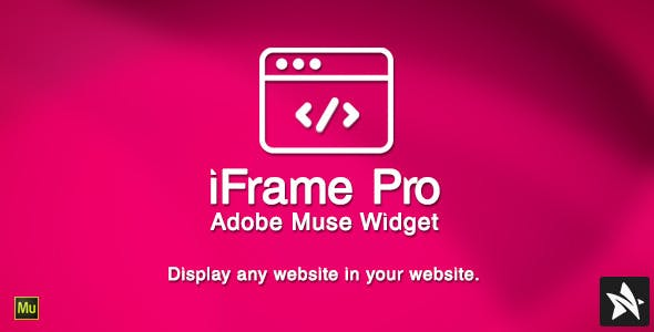 iFrame Pro Widget for Adobe Muse