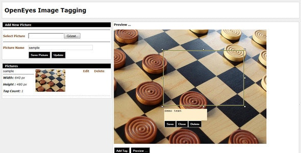 OpenEyes Image Tagging And Image Uploader. - CodeCanyon Item for Sale