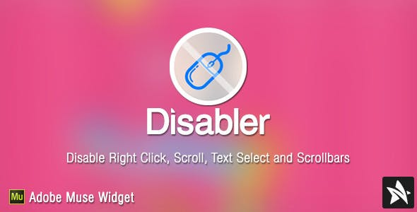 Disabler Widget for Adobe Muse