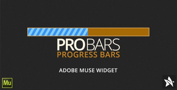 ProBars - Animated Progress Bars for Adobe Muse