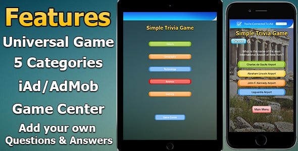 Quiz Game for iOS (Swift)
