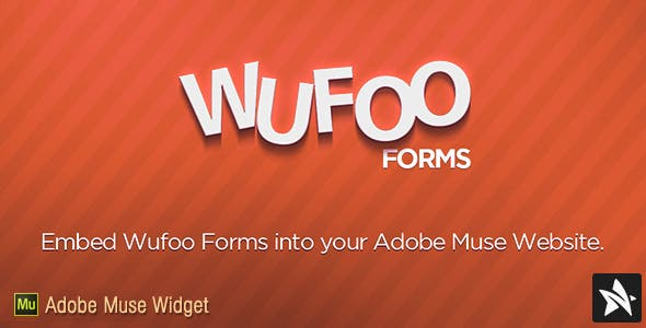 Wufoo Forms Widget for Adobe Muse