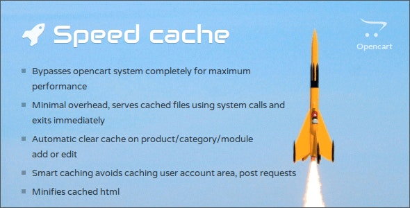 Opencart Speed Cache - CodeCanyon Item for Sale