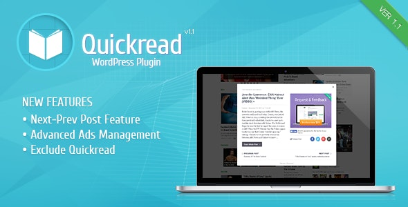 Wordpress Quick Read Plugin - CodeCanyon Item for Sale