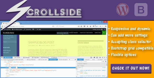 Scrolling Sidebar WordPress Plugins from CodeCanyon