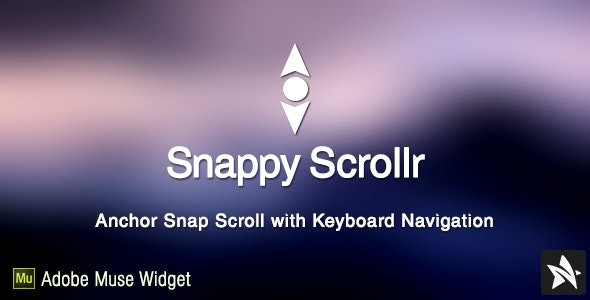 Snappy Scrollr Widget for Adobe Muse - CodeCanyon Item for Sale