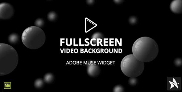 FullScreen Video Background Widget for Adobe Muse