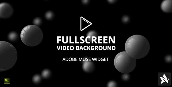 FullScreen Video Background Widget for Adobe Muse - CodeCanyon Item for Sale