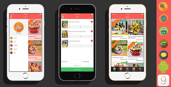 ElSabbat -  Woocommerce Titanium App - CodeCanyon Item for Sale