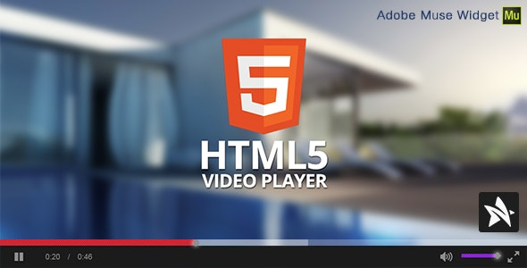 HTML5 Video Player for Adobe Muse - CodeCanyon Item for Sale