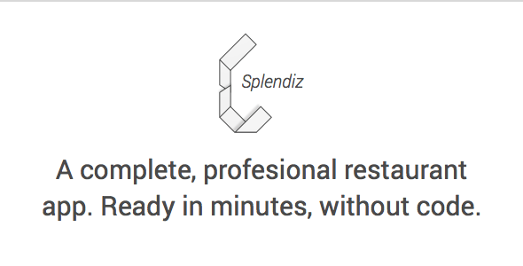Splendiz Restaurant App With Dashboard