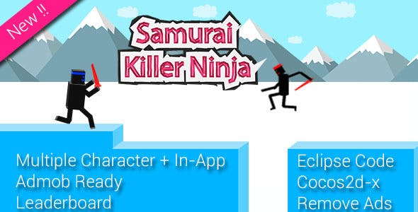 Ninja Samurai + Multiple Character + Remove Ads