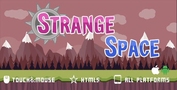 Strange Space- html5 mobile game