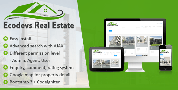 EcoDevs Real Estate - CodeCanyon Item for Sale