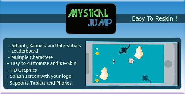 Mystical Jump + AdMob + Multiple Charactere