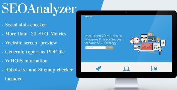 SEOAnalyzer - CodeCanyon Item for Sale