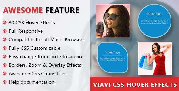 Viavi CSS3 Hover Effects