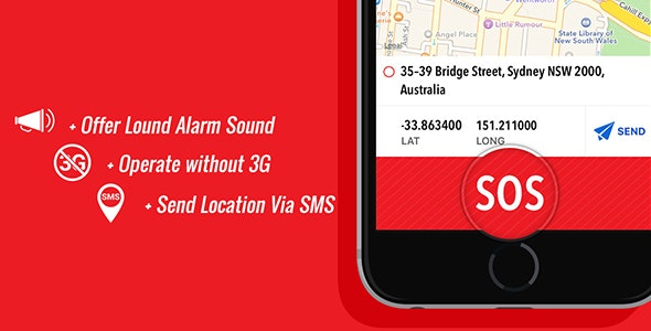 SOS Help - Send Emergency Signal - CodeCanyon Item for Sale