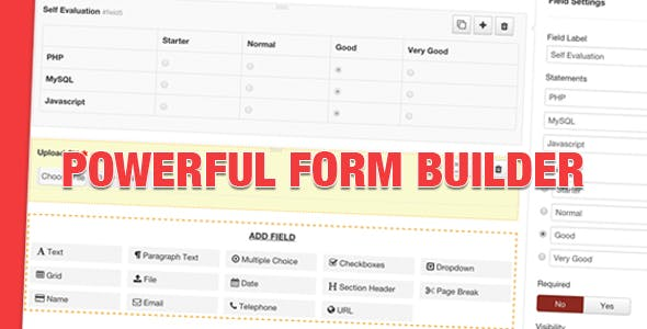 Geek Form Builder Component