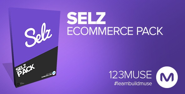Adobe Muse Selz Widget Package - CodeCanyon Item for Sale