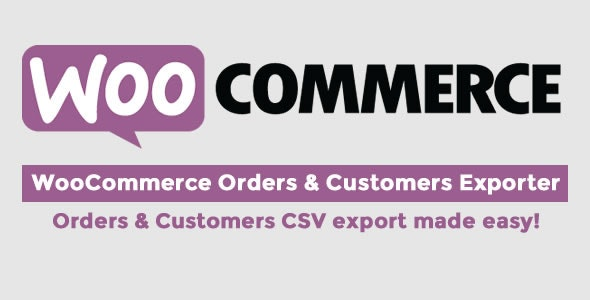 WooCommerce Orders & Customers Exporter - CodeCanyon Item for Sale