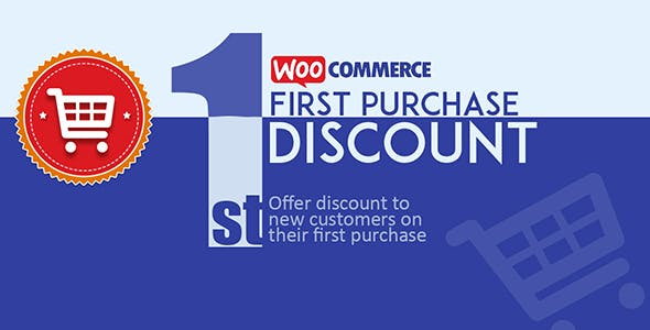 WooCommerce First Purchase Discount