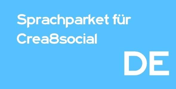 German Language for Crea8Social - CodeCanyon Item for Sale