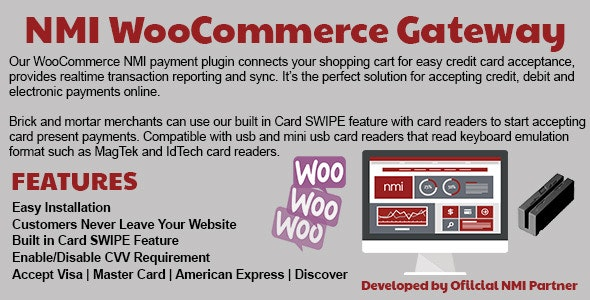 NMI WooCommerce Payment Gateway - CodeCanyon Item for Sale