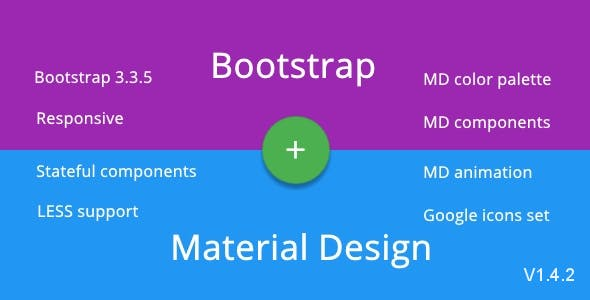 BMD - Bootstrap + Material Design